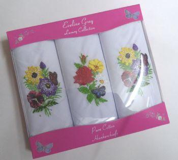 Ladies Handkerchiefs LR38398